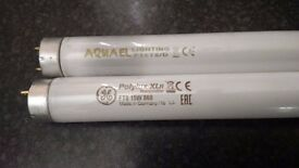 """T8 18"""" flourescent tube, 1 brand new, one old (not sure if faulty) read discription"""