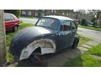 Classic vw beetle Project 1972