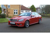 2008 08 MERCEDES-BENZ C CLASS 6.2 C63 AMG 4d AUTO 451 BHP*PART EX WELCOME*FINANCE AVAILABLE*WARRANTY