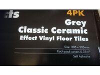 Stickyback Floor Tiles. £70. ono