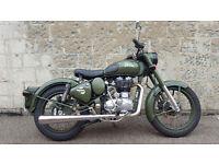 Royal Enfield Classic army 500cc battle green