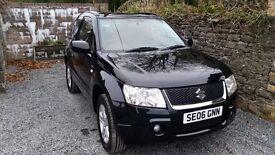 Suzuki Grand Vitara 4x4 1.6 Petrol Black 69000 miles Long Mot 12 months warranty and recovery