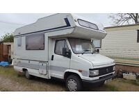 FOR SALE a lovely 1992 - 1905cc 4BERTH TALBOT EXPRESS MOTORHOME