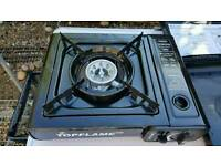 Top flame gas cooker