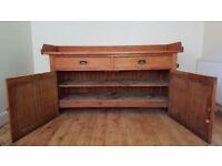 Lovely old pine dresser/ dairy base kitchen unit