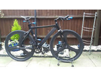 mens single speed tron track/racing bike