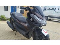 Honda forza 125 only 3779 mls. Starts and drives good. Category D. You missing couple panels.