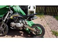 140cc stomp racing pitbike (siezed engine)