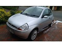 2006 FORD KA COLLECTION SILVER, UPGRADED FOX WHEELS & SPORT REAR LIGHTS, 12 MONTHS MOT, ONLY 56k
