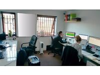 OFFICE TO LET - Guildford - modern office close to A3 for 4-5 people - all inclusive - AVAIL. NOW