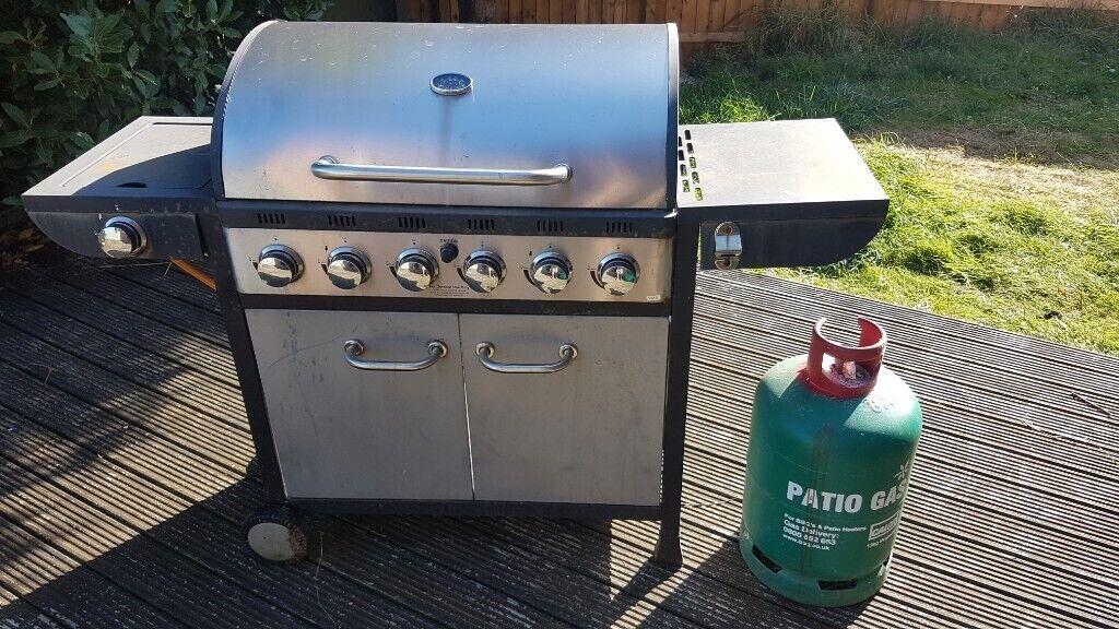 Argos 6 Burner Gas Bbq With 13 Kg Gas Bottle In Plymouth Devon Gumtree
