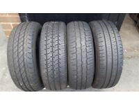 16'' VAN LOAD RATED TYRES 205/65/16C (price for set of 4)