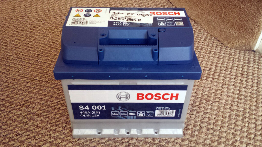 bosch s4 001 063 car battery brand new in box warranty in congleton cheshire gumtree. Black Bedroom Furniture Sets. Home Design Ideas