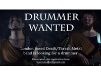 Death/Thrash Metal band is looking for a drummer