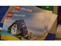 Lego creator house 90% complete