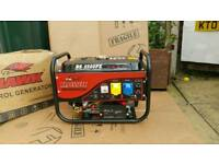 2.5kVA 2.5kW 2500w 5.5HP 110v 230v PETROL ELECTRIC SINGLE PHASE POWER GENERATOR