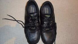 MENS WRANGLER LEATHER SHOES. SIZE 9 VGC