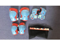 Knee, elbow and hand protector set 4-8 y