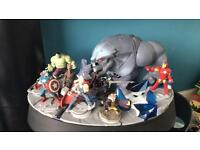Disney infinity limited edition stand with figures and game for PS3