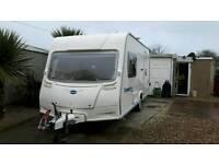 Bailey 460/2 caravan with motor mover
