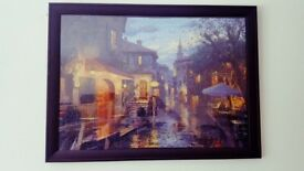 Puzzle Scene with frame