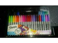 Sharpie 30 pack permanent fine point markers