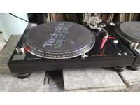 Technics 1210 mk5gs + Technics Championship mixer & Scousehouse records
