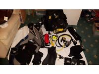 Diving Equipment hardly used