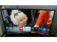 USED SAMSUNG UE40J6300AK - SMART HD TV with Freeview and remote
