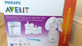 AVENT Philips Manual breast pump & feeding set