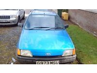 Ford Fiesta Gia, Spares/repairs