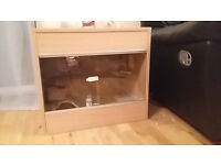 Reptile vivarium 2ft with accessories (x2 AVAILABLE)
