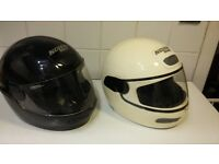 Nolan Motorbike Helmets x2