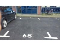 parking space 2 mins from Central Station on residential property site, with individual permits