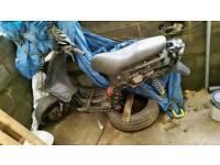 Piaggio Nrg 50cc liquid cooled moped