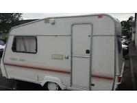 2 berth Abbey caravan