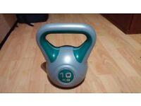 York Fitness Vinyl Kettlebell 10 kg