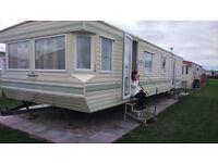 6 berth caravan for rent,summerlands park, roman bank, ingoldmels, skegness, opp butlins