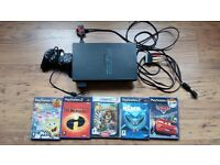 Play Station 2 with 5 games