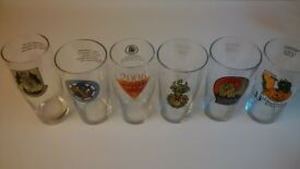 Beer Glasses- Collection of Norwich Beer Festival and Reading Beer Festival Pint Glasses