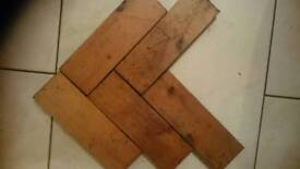 Wood block flooring