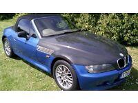 """BMW Z3 1.9 Roadster Convertible 1999 T reg """"2 SEATS"""""""