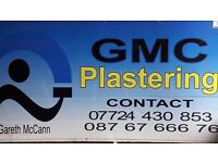Experienced plastering squad available. Tel- 07724430853
