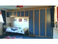 Bedroom Furniture Set & Accessories - Wardrobes, Drawers, Bridging Units, Desk, Cupboard...