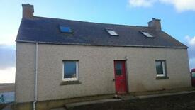 North Uist, Tigharry Village. Clean little cottage. suitable for one person or couple