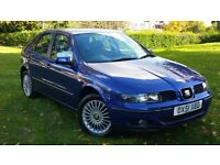 SEAT LEON (12 MONTHS MOT(FULL SERVICE HISTORY(ONE OWNER