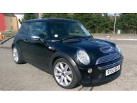 MINI COOPER S 163 BHP 53 REG LOW MILEAGE 1 YEAR MOT HALF LEATHER XENON HEADLIGHTS