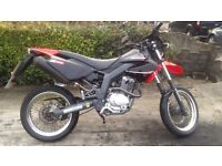 Derbi senda sm 125 2012 Mint condition.