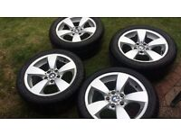 BMW ALLOYS SET OF 5