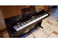 Korg Concert 5000 piano, fully weighted-keys, in good condition on sturdy stand